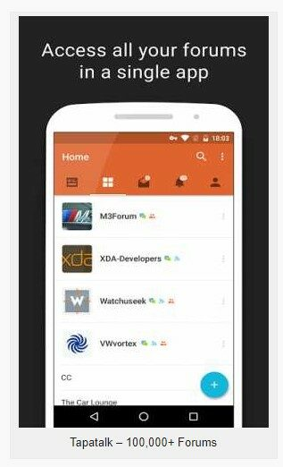 Tapatalk 8.7.2 B-1606 Apk + Mod (add-free) for Android