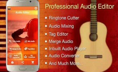 Audio MP3 Cutter Mix Converter Pro 1.84 Unlocked Apk for android